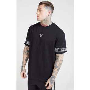 SIKSILK S/S ESSENTIAL RUNNER OVERSIZED TEE