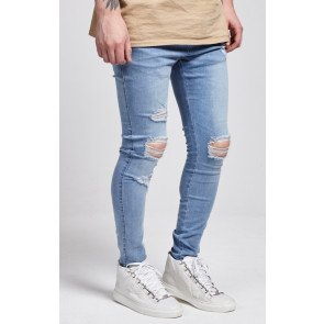 Jeans Sik Silk London Skinny Denim Blue