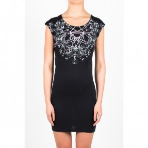 Šaty Sixth June Dress Flower Black