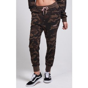 Tepláky SikSilk Fitted Camo