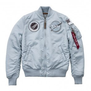 Dámska bombera Alpha Industries Ma-1 Vf Nasa Air Blue