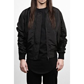 Bunda Favela Bomber Jacket Black
