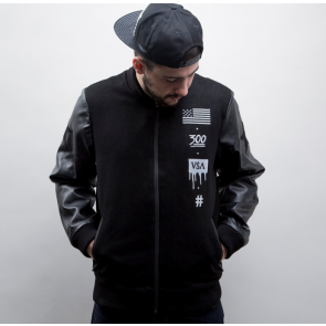 Bunda Cayler & Sons BL V$A Varsity Jacket Black