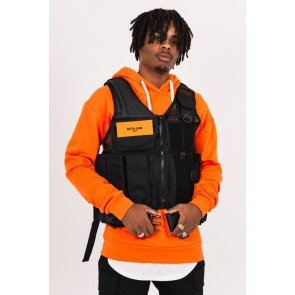 Sixth June Propaganda pockets tactical vest black