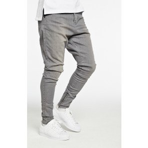 Rifle Siksilk Dropcrotch Light Grey