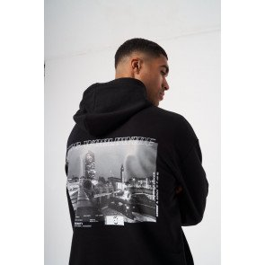 RELAXED FIT GRAPHIC HOODIE