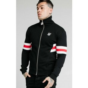 SIKSILK LUXE ZIP THROUGH FUNNEL NECK HOODIE