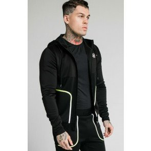 SIKSILK LEGACY FADE ZIP THROUGH HOODIE