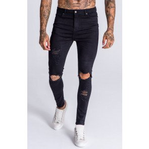 BlackDistressed Jeans OFS_NS