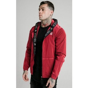 SIKSILK ZIP THROUGH WINDBREAKER JACKET
