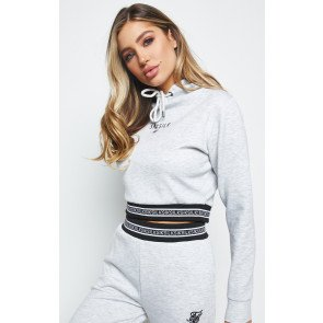 SIKSILK ELEMENT CROPPED HOODIE