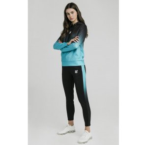 SikSilk tracksuits Fade Black & Teal