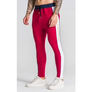RoyaltyBlock Burgundy Joggers OFS_NS