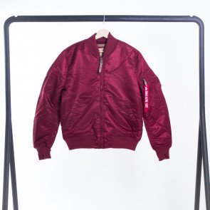 Pánska bunda Alpha Industries Ma-1 Vf 59 Burgundy