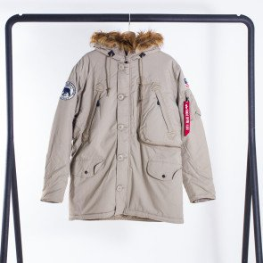 Pánska bunda Alpha Industries Polar Khaki