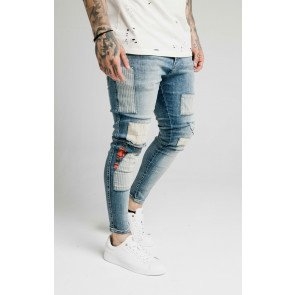SIKSILK LOW RISE FUSION DENIMS