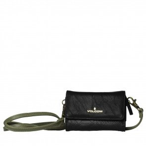 VOLCOM CARRY ON WALLET BLK