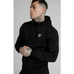SIKSILK AGILITY ZIP THROUGH HOODIE CORE OFS_NS