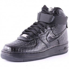 Nike Air Force 1 Hi Prm Dámske Black Black