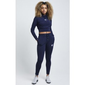 SikSilk Tracksuits Zonal Track Navy