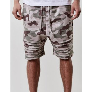 Kraťasy C&s BL Doomed Low Crotch Camo Beige