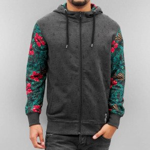 Just Rhyse Nondalton Zip Hoody Anthracite/Colored