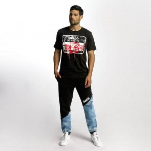 Dangerous DNGRS / Sweat Pant Breath in black