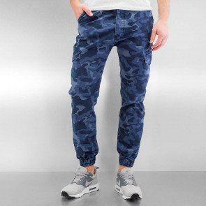 Jeansy 2Y Funchal Antifit Blue Camouflage