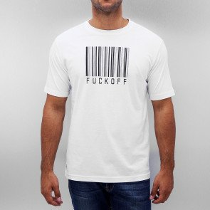 Just Rhyse Barcode T-Shirt White