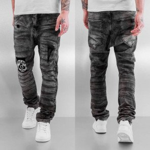 Nohavice Bangastic Lucky Anti Fit Black Wash