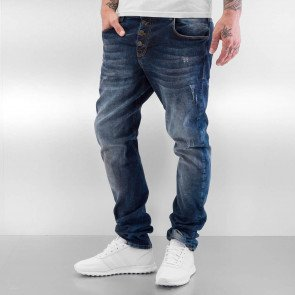 Jeans Bangastic Trop Straight Fit Mid Blue