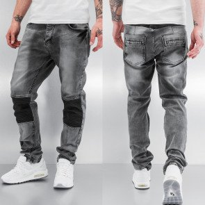 Nohavice Bangastic PU Straight Fit Grey