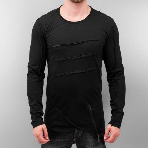 Tričko Bangastic Three Longsleeve Black