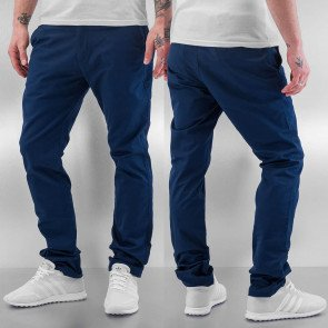 Nohavice Cazzy Clang Mehdi Chino Pants Navy