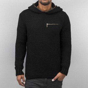 Mikina Cazzy Clang Knit Black