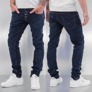 Nohavice Cazzy Clang 1976 Straight Fit Dark Blue