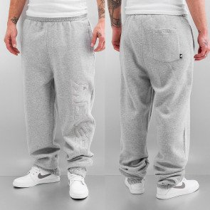 Tepláky Dangerous DNGRS Classic Stitch Sweat Pants Grey Melange