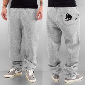Tepláky Dangerous DNGRS Bear Sweat Pants Grey Melange