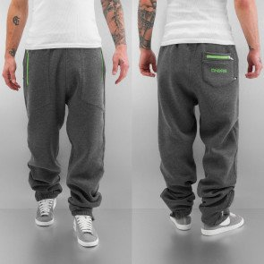 Tepláky Dangerous DNGRS Clean Line Sweat Pants Charcoal Melange