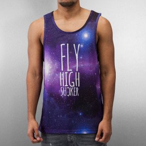 Dangerous DNGRS Fly High Tank Top Galaxy Print