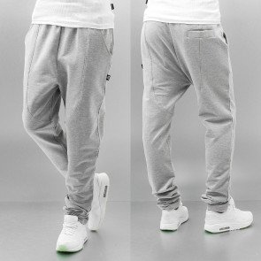Tepláky Dangerous DNGRS Dope Sweat Pants Grey Melange