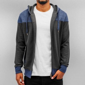 Mikina Cyprime Zip Hoody Anthracite Blue