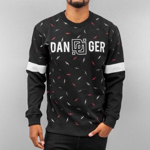 Mikina Dangerous DNGRS Guns Sweatshirt Black