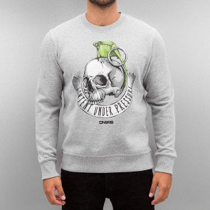 Crewneck Dangerous DNGRS Content Under Pressure Grey
