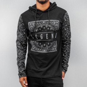 Mikina Dangerous DNGRS Legend Hooded Longsleeve Black