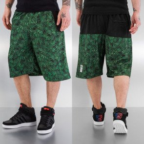 Kraťasy Dangerous DNGRS Hemp Shorts Black Green