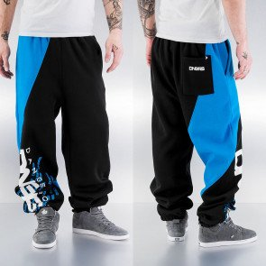 Tepláky Dangerous DNGRS Santiago Sweat Pants Black/turquoise