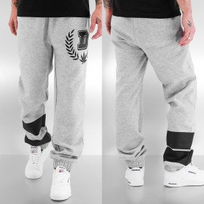 Tepláky Dangerous DNGRS D-Hemp Sweat Pants Grey