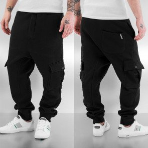 Tepláky Dangerous DNGRS Cargo Sweat Pants Black
