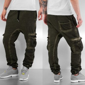 Tepláky Dangerous DNGRS Cargo Sweat Pants Olive